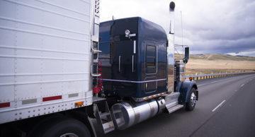完整的卡车运输